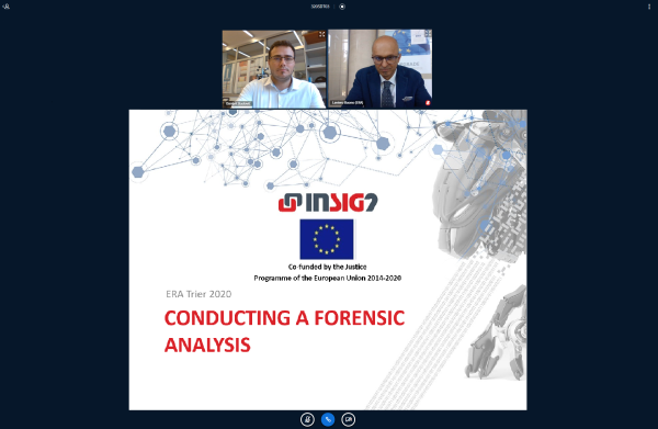 "INsig2 lecture ""Conducting a forensic analysis"""